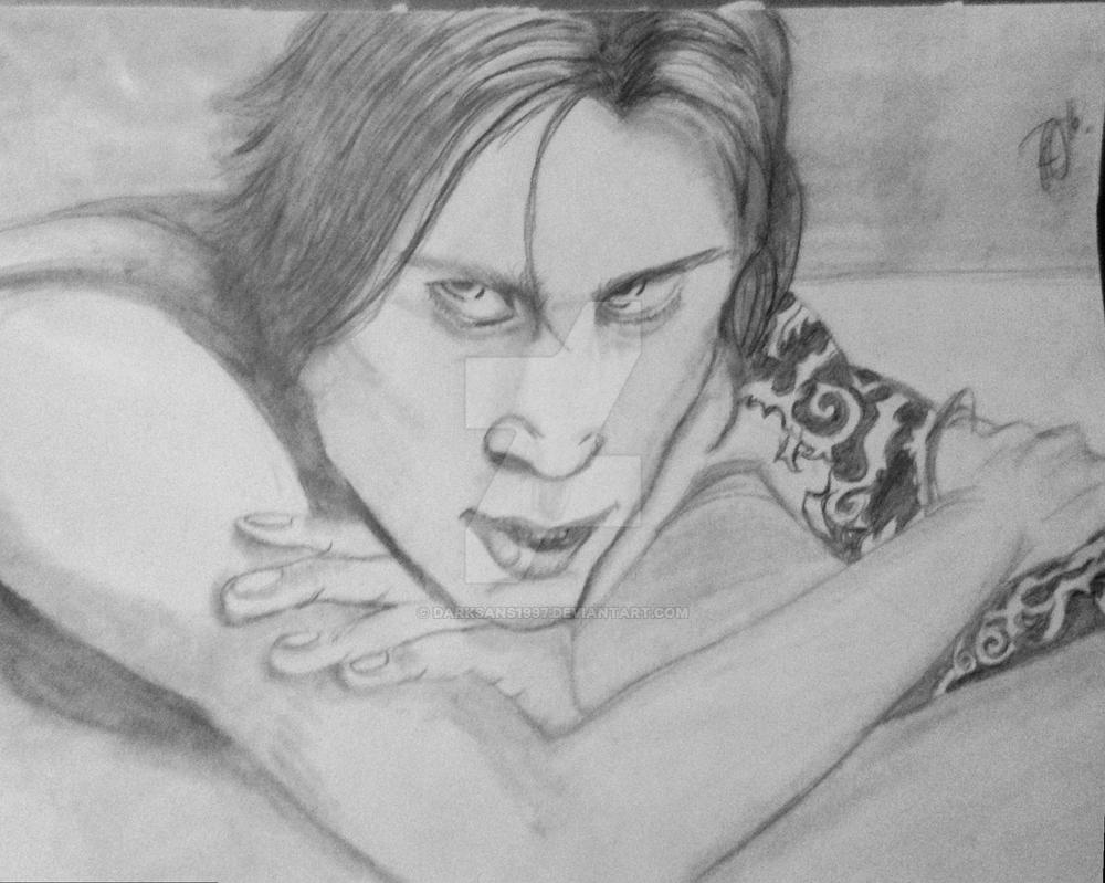 Ville Valo Pose by RienneCheshire