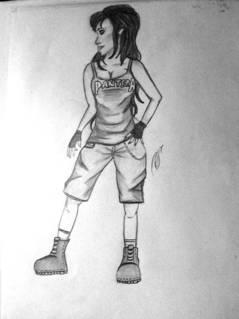 Pantera Girl by RienneCheshire