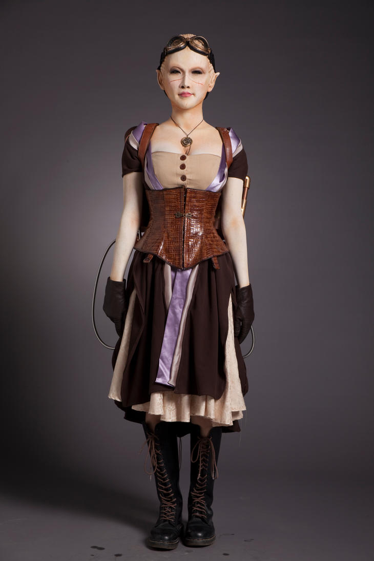 Steampunk Girl by Daiquiri-Design