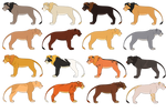 TLK Breedable Adopts! OPEN by PANTHERALE0