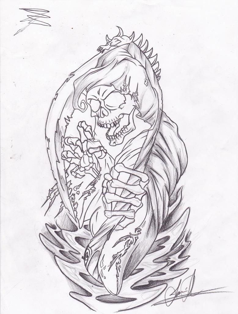 Reaper Tattoo By Jamieshemayme On Deviantart
