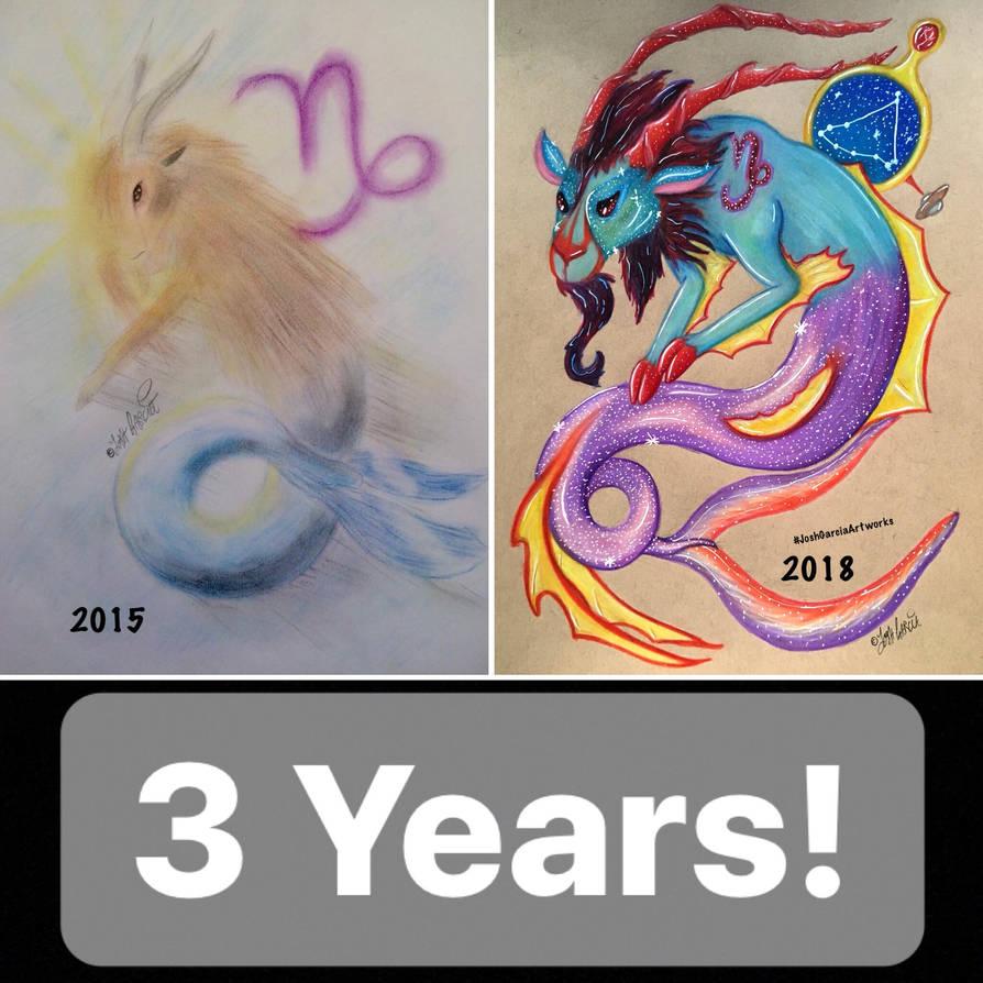 Capricorn: 3 Years Later by JoshGarciaArtworks on DeviantArt
