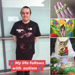 Happy Autism Awareness/Acceptance Day! by JoshGarciaArtworks