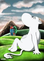 Moominvalley's Light by JoshGarciaArtworks