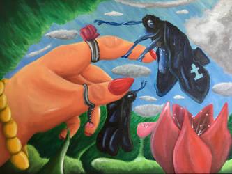 Helping Our Wings by JoshGarciaArtworks