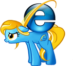 Internet Explorer Pony