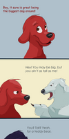 Clifford the Not-So Big Red Dog