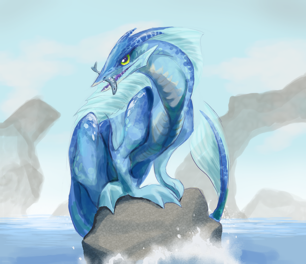 Water Dragon by Bedupolker on DeviantArt