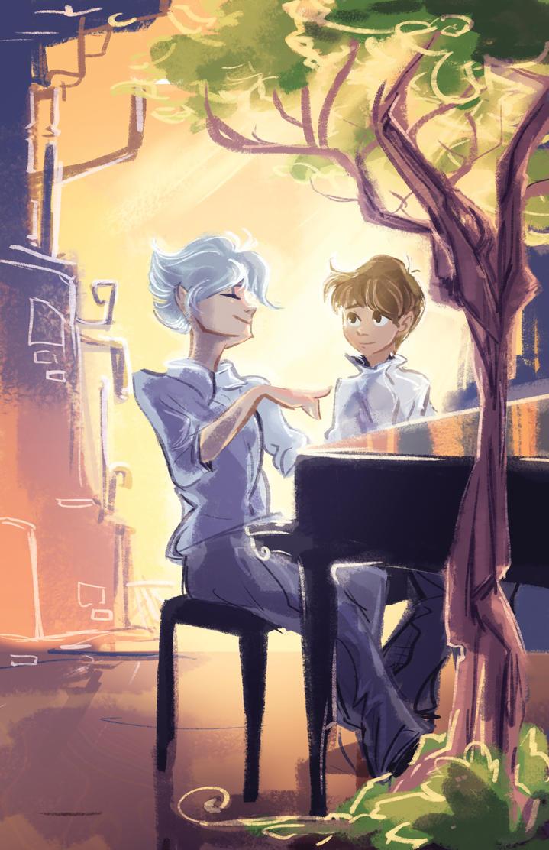 NGE Piano by Bedupolker