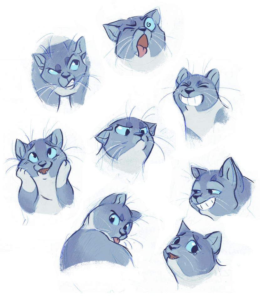 Kitty Expressions by Bedupolker