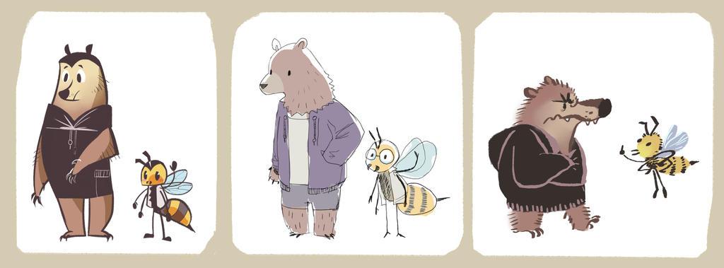 Beesbears by Bedupolker