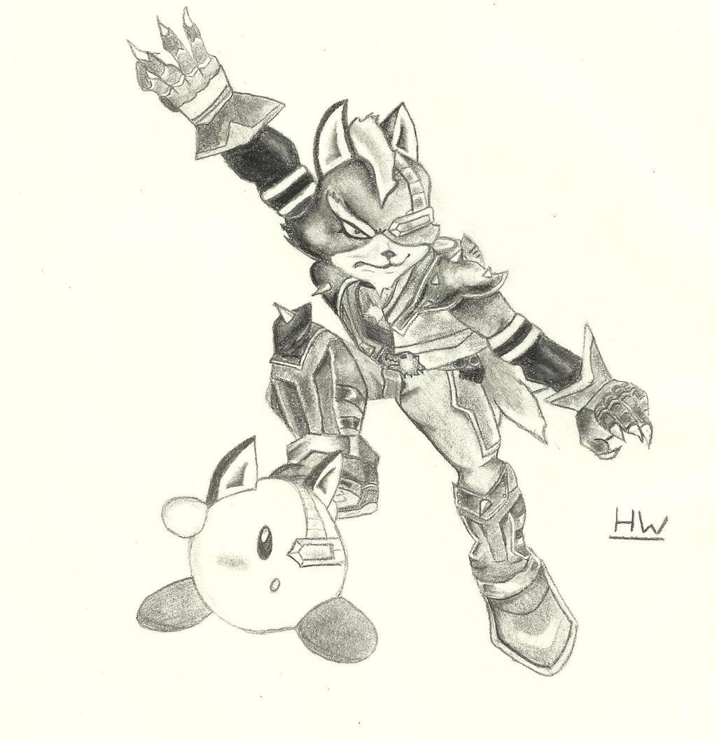 Falco Ssbb Drawings Ssbb wolf o donnell byFalco Ssbb Drawings