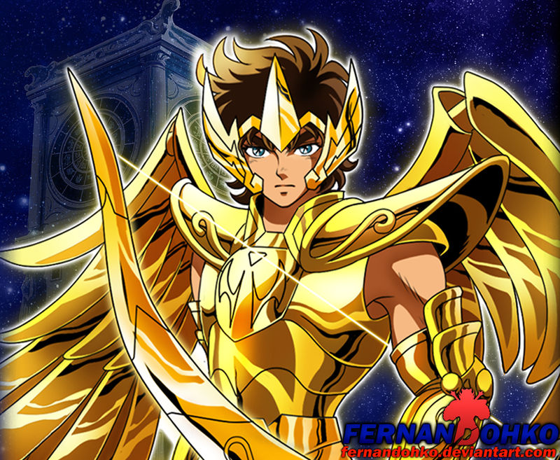 Image result for aiolos saint seiya