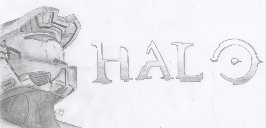 the gallery for gt halo master chief drawings easy