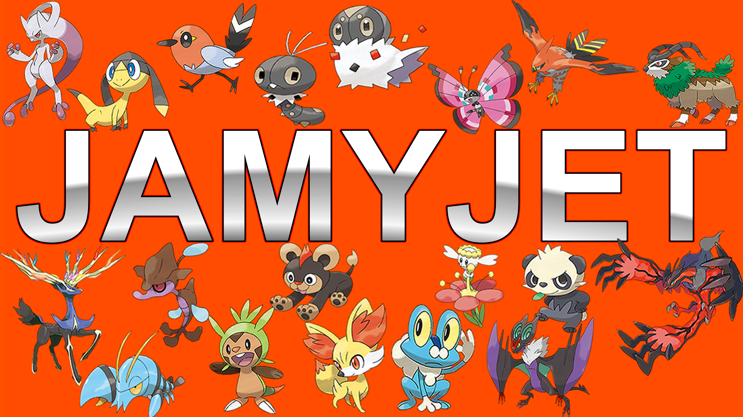 Pokemon X And Y Wallpaper V2 Jamyjet By Jammyjet On Deviantart