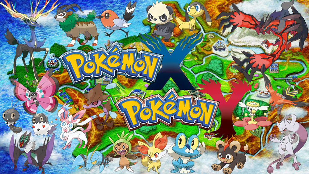 POKEMON X AND Y GENERATION 6 KALOS MAP WALLPAPER!! by ... on