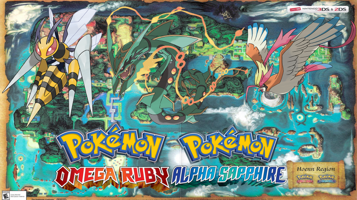 Pokemon Omega Ruby/Alpha Sapphire Mega Wallpaper by ...