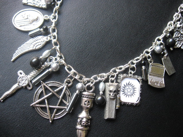 SUPERnatural Necklace by SpellsNSpooks