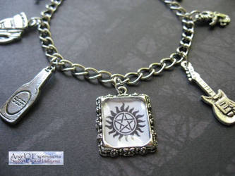 Dean Winchester Bracelet V.6 by SpellsNSpooks