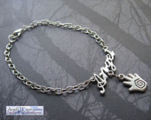 Castiel the Angel Anklet by SpellsNSpooks