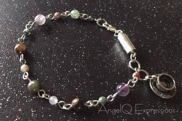 Java Junkie Stone Bracelet by SpellsNSpooks