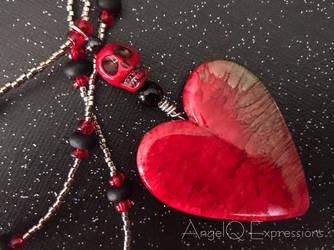 Til Death Eternal Love Necklace by SpellsNSpooks