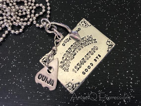 The Dead Speak Ouija Board Necklace by SpellsNSpooks
