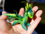 Acid Spitter Dragon Mini Totem