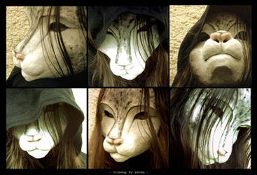 closeup - the mask by Neuntoeter