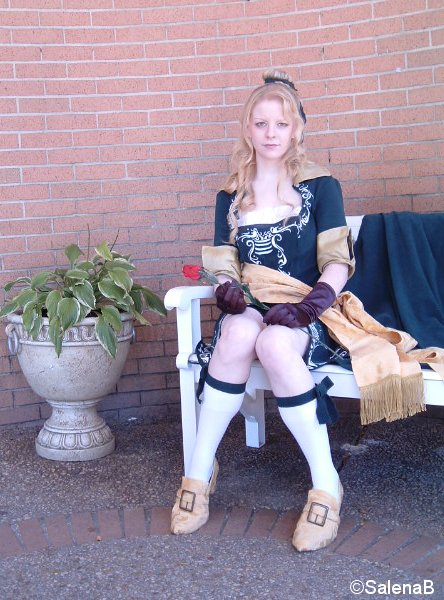 Maria Renard from Castlevania by SalenaB