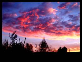 sunset by jabibita