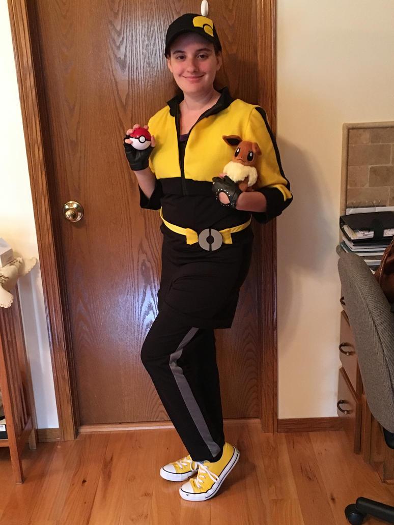 Halloween 2017 Pokemon Go Trainer by totochan93