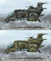 light guerilla gunship by krassnoludek