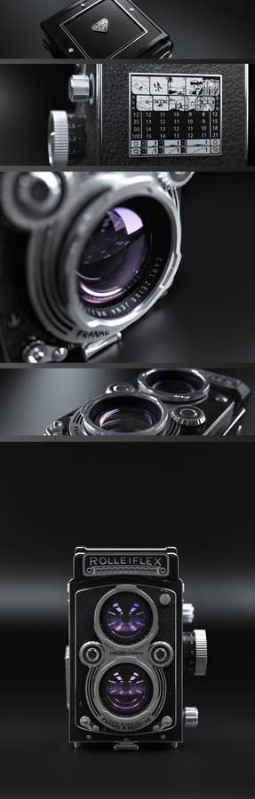Rolleiflex renders