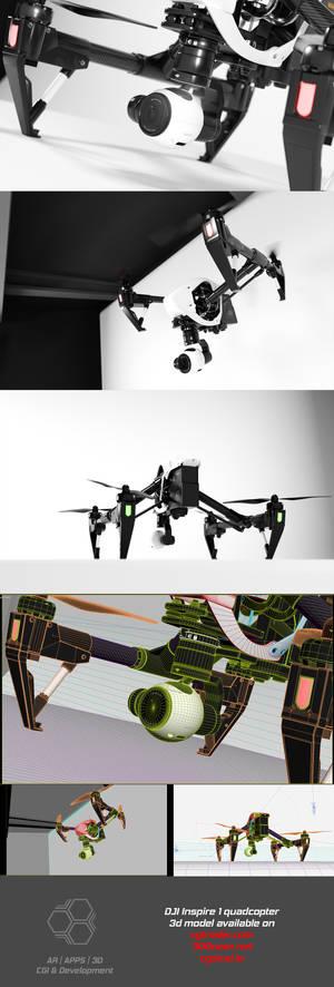 DJI Inspire1 3D model
