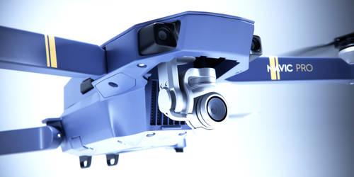 mavic drone 3d model