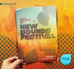 PSD Indie Vintage Flyer Festival