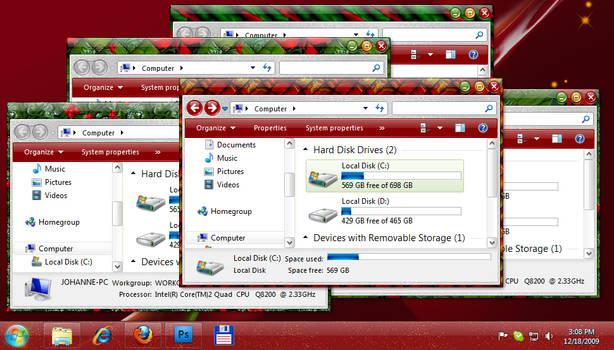 Holidays WindowBlinds skin