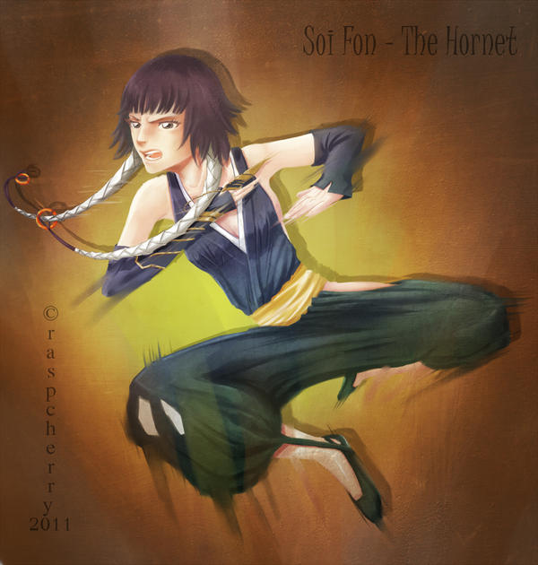 Soi Fon - The Hornet by Raspcherry