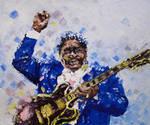 B.B. King by Taapi