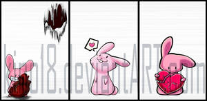Shirts: bunny-heart collection