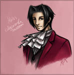 Miles Edgeworth - Sketch