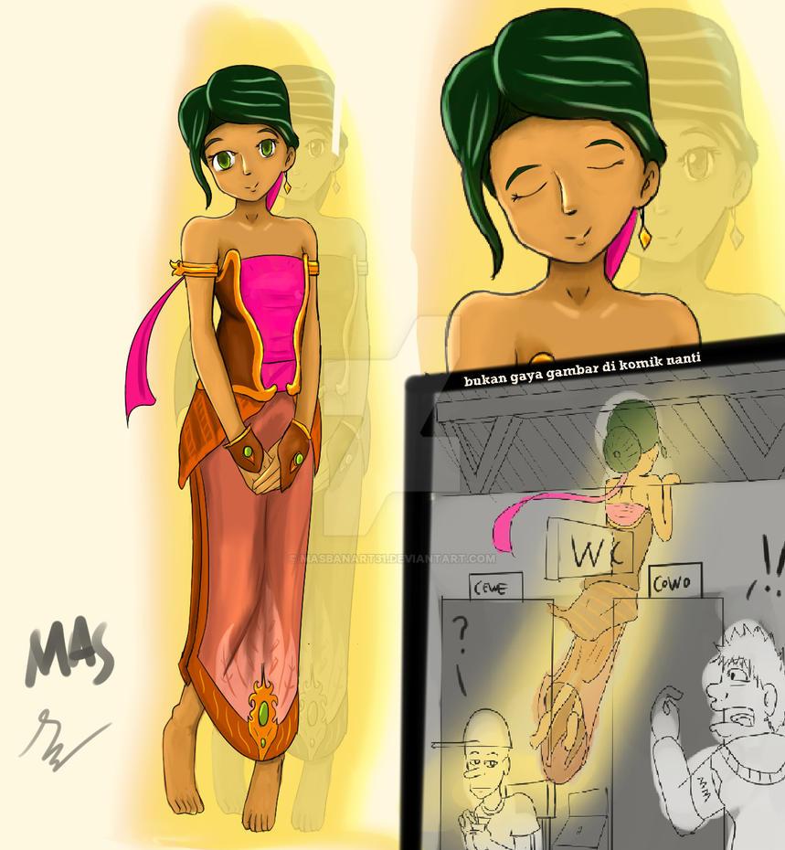 Heroin Character, Aura by Masbanart31
