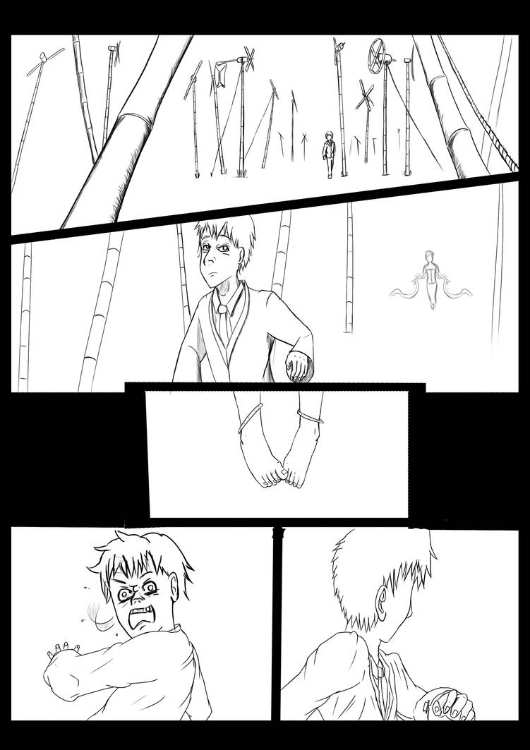 Paneling Comic ( 3 Non Shading ) by Masbanart31