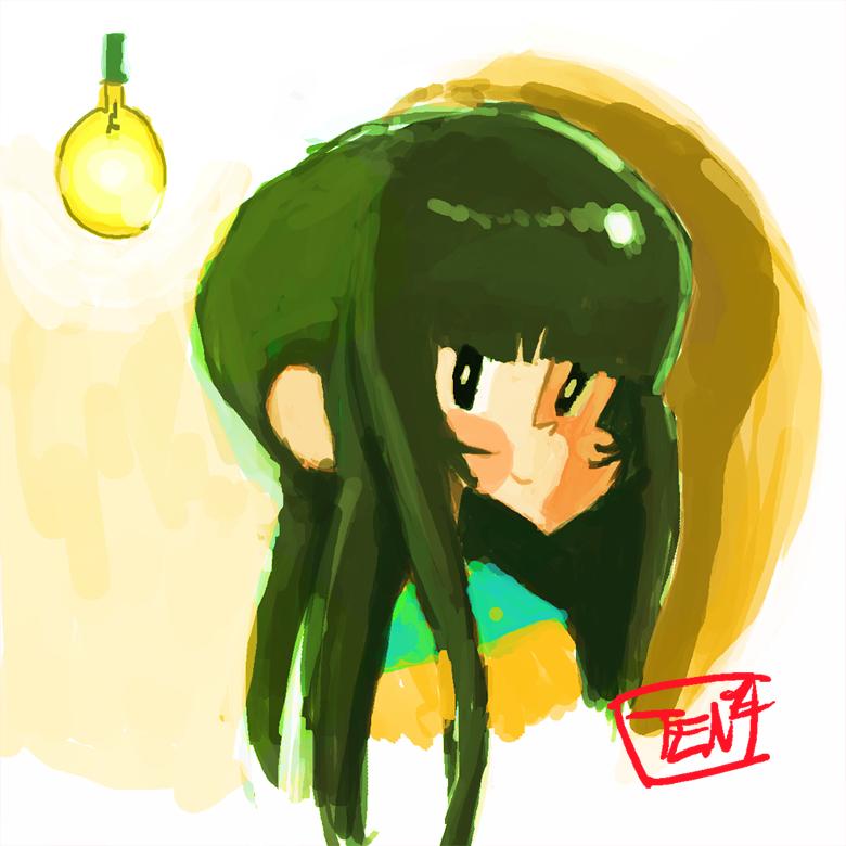 Girl by Tentakustar