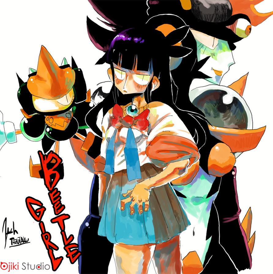 Beetle Girl Illust by Tentakustar