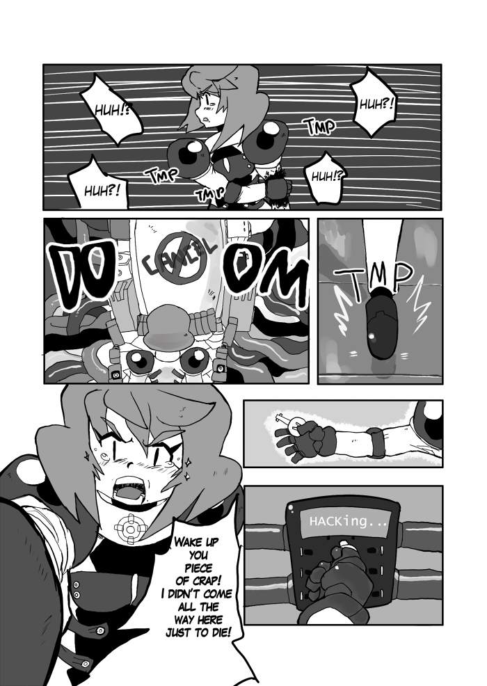 Chaos Cancel OneShot Page 5 by Tentakustar