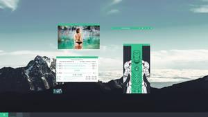 Desktop Setup April 2017 - Midnight