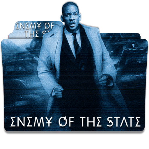 Enemy Of The State 1998 Folder Icon By Deoxsis On Deviantart