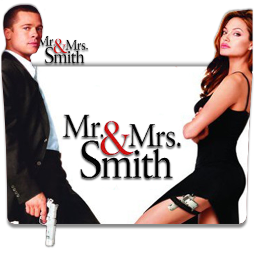 Mr Mrs Smith 2005 Folder Icon By Deoxsis On Deviantart